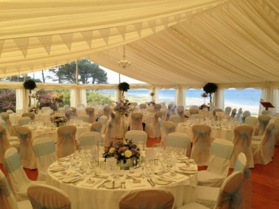 Chair covers with bows westernmarquees.co.uk
